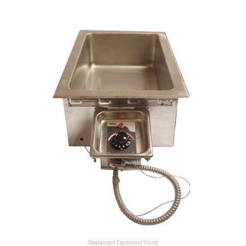 APW Wyott HFW-1D Top mount multi wells with drain
