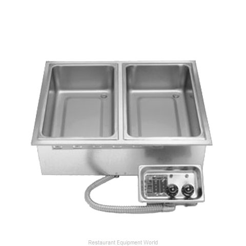 APW Wyott HFW-2 Hot Food Well Unit, Drop-In, Electric (Magnified)