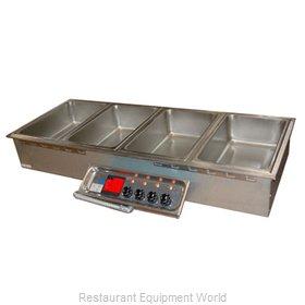 APW Wyott HFW-4 Hot Food Well Unit, Drop-In, Electric