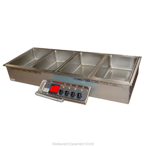 APW Wyott HFW-4D Hot Food Well Unit, Drop-In, Electric