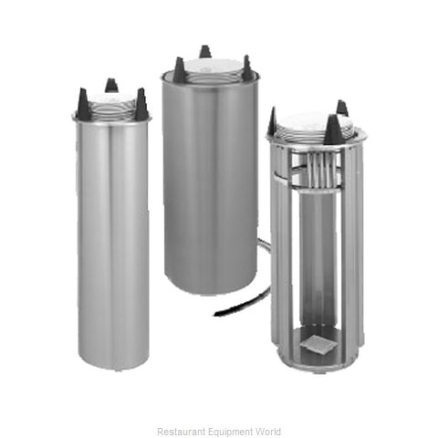APW Wyott HL-6.5 Dispenser Plate Dish Heated Round