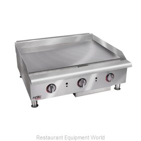 APW Wyott HMG-2448 Griddle Counter Unit Gas