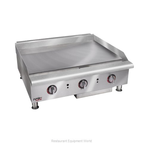 APW Wyott HMG-2472 Griddle Counter Unit Gas (Magnified)