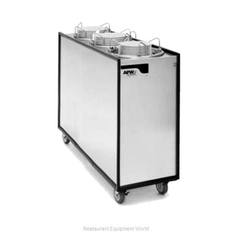 APW Wyott HML3-12A Heated Enclosed Mobile Plate Dispenser