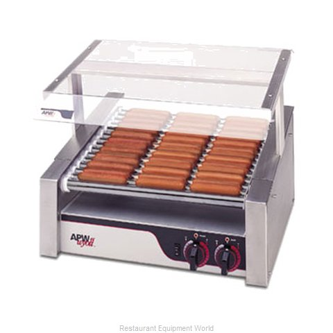 APW Wyott HR-50S Hot Dog Grill (Magnified)