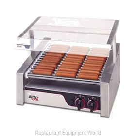 APW Wyott HR-50S Hot Dog Grill Roller-Type