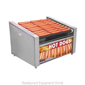 APW Wyott HRS-31BW Hot Dog Grill