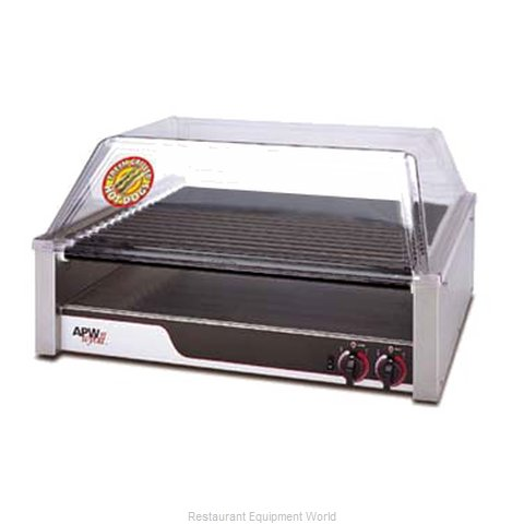 APW Wyott HRS-50 Hot Dog Grill (Magnified)