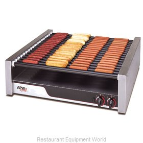 APW Wyott HRS-75 Hot Dog Grill Roller-Type