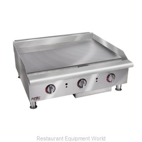 APW Wyott HTG-2424 Griddle Counter Unit Gas