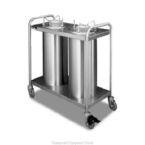 APW Wyott HTL2-9A/12A Dispenser, Plate Dish, Mobile
