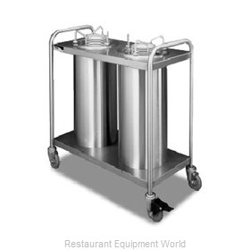 APW Wyott HTL2-9A/12A Dispenser, Plate Dish, Mobile