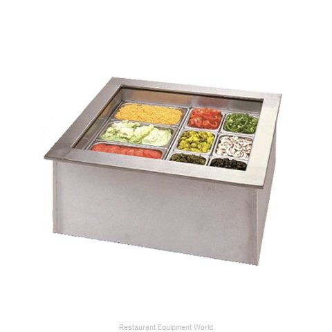 APW Wyott ICP-500 Cold Pan Food Unit Drop-In