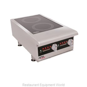 APW Wyott IHP-2 Induction Range, Countertop