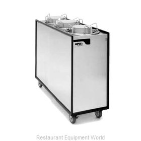 APW Wyott ML3-12A Dispenser, Plate Dish, Mobile