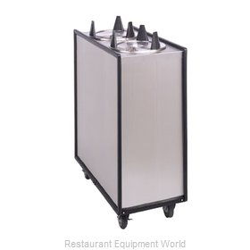 APW Wyott ML3-5 Enclosed Mobile Plate Dispenser