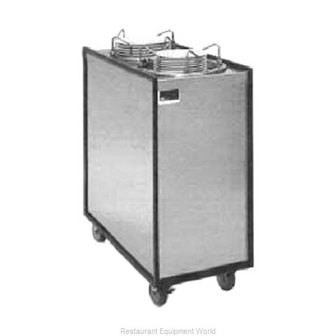 APW Wyott ML3-9A Dispenser, Plate Dish, Mobile