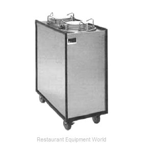 APW Wyott ML3-9A Enclosed Mobile Plate Dispenser