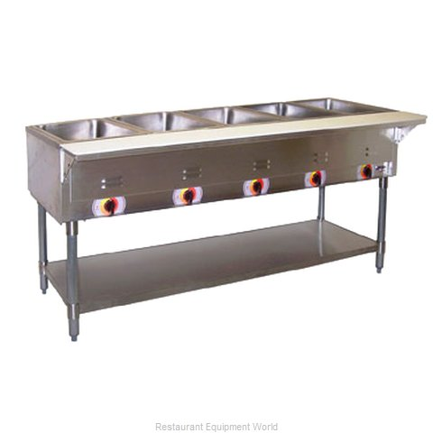 APW Wyott PST-4S Serving Counter Hot Food Steam Table Electric