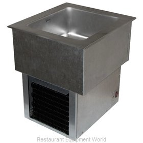 APW Wyott RTR-4DI Cold Food Well Unit, Drop-In, Refrigerated