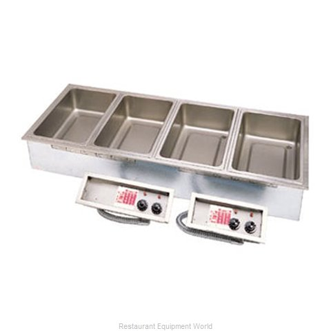 APW Wyott SHFWEZ-5D Hot Food Well Unit Electric Drop-In Top Mount
