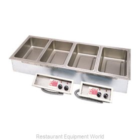 APW Wyott SHFWEZ-5D Hot Food Well Unit, Drop-In, Electric