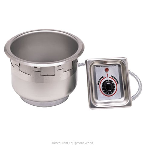 APW Wyott SM-50-4D UL Hot Food Well Unit Electric Drop-In Top Mount (Magnified)