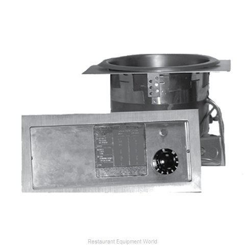APW Wyott SM-50EZ-11D Hot Food Well Unit Electric Drop-In Top Mount (Magnified)