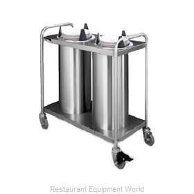 APW Wyott TL2-10 Dispenser, Plate Dish, Mobile