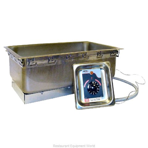 APW Wyott TM-90D UL Hot Food Well Unit, Drop-In, Electric (Magnified)