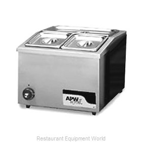 APW Wyott W-12 Food Pan Warmer, Countertop