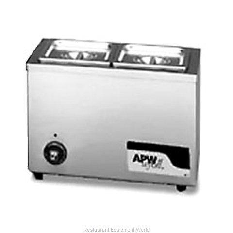 APW Wyott W-6 Food Pan Warmer, Countertop