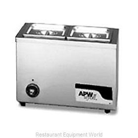 APW Wyott W-6 Food Pan Warmer, Countertop