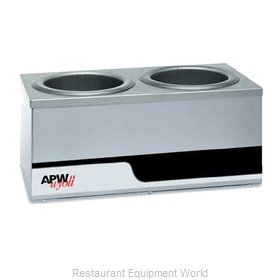 APW Wyott W4-2 Food Pan Warmer, Countertop