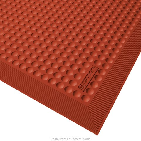 Apex Foodservice Matting 458S0035RD Floor Mat, General Purpose (Magnified)