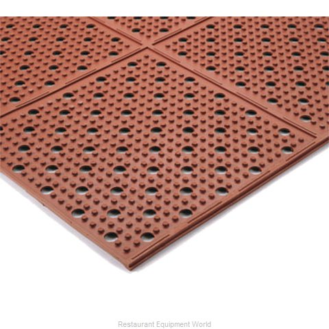 Apex Foodservice Matting T23R0430RD Floor Mat, General Purpose (Magnified)