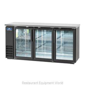 Arctic Air ABB72G Back Bar Cabinet, Refrigerated