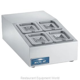 Arctic Air ACP4SQ Refrigerated Countertop Pan Rail