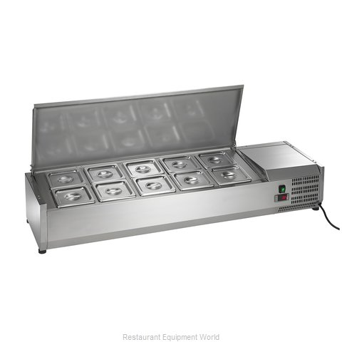 Arctic Air ACP55 Refrigerated Countertop Pan Rail