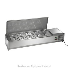 Arctic Air ACP55 Refrigerated Countertop Pan Rail