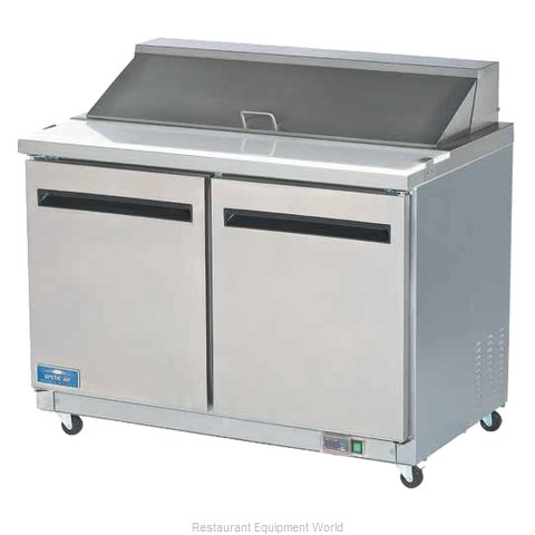 Arctic Air AMT48R Refrigerated Counter, Mega Top Sandwich / Salad Unit (Magnified)