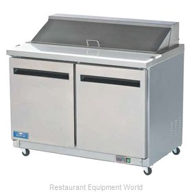 Arctic Air AMT48R Refrigerated Counter, Mega Top Sandwich / Salad Unit