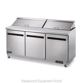 Arctic Air AMT72R Refrigerated Counter, Mega Top Sandwich / Salad Unit