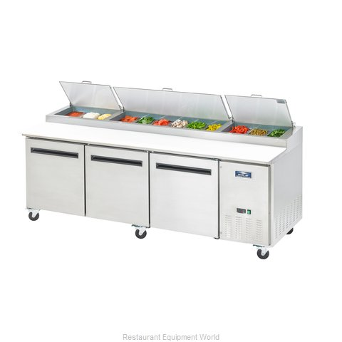 Arctic Air APP94R Refrigerated Counter, Pizza Prep Table