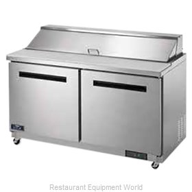 Arctic Air AST60R Refrigerated Counter, Sandwich / Salad Top