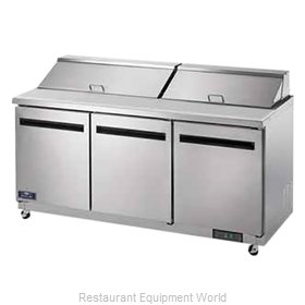 Arctic Air AST72R Refrigerated Counter, Sandwich / Salad Top