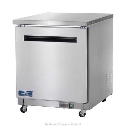 Arctic Air AUC27R Refrigerator, Undercounter, Reach-In