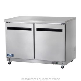 Arctic Air AUC48R Refrigerator, Undercounter, Reach-In