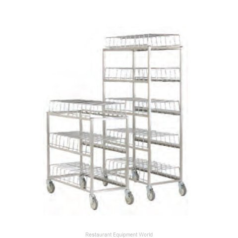 Alluserv 100CDR Dome Storage Cart (Magnified)