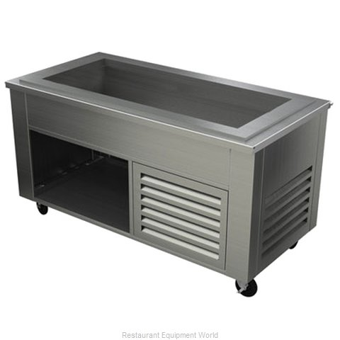 Alluserv ACF5C4 Serving Counter Cold Pan Salad Buffet